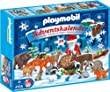 "PLAYMOBIL� 4155 - Adventskalender ""Wildf�tterung"""
