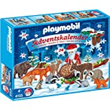 "Playmobil - 4155 Advent Calendar ""Christmas in the Forest""by Playmobil"