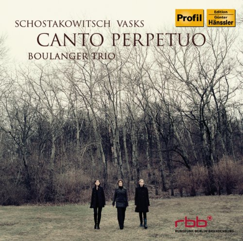 CD : Boulanger Trio - Canto Perpetuo (CD)