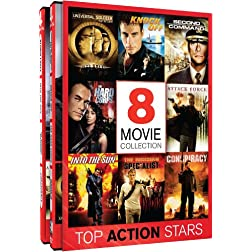 Top Action Stars - 8 Movie Collection