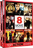 Top Action Stars – 8 Movie Collection