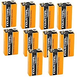 Duracell Procell Battery Alkaline 9V Ref MN1604 [Pack 10] by Duracell