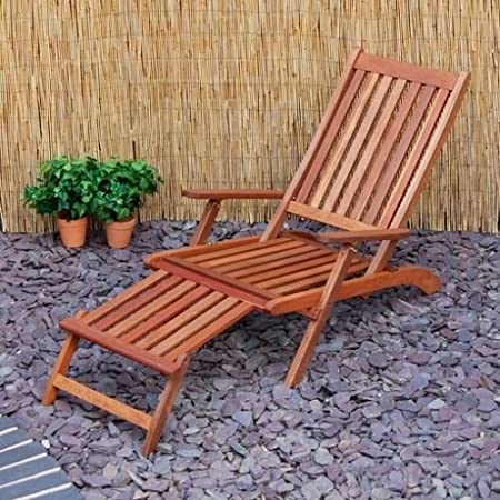 Generic QY-UK4-16FEB-20-57 *1**2057** Folding Patio Hardwood Garden Garden Patio d Foldi Deck Chair k Chair Steamer teamer Deck Chair
