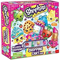 Pressman Toy Shopkins Supermarket Scramble Game (Ages 5 And Up)