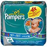 Pampers Baby Fresh Refill 4 x Packs of 64--256 Wipes