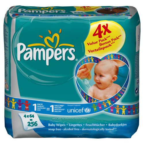 Pampers - 81390106 - Lingettes Baby Fresh - 4
