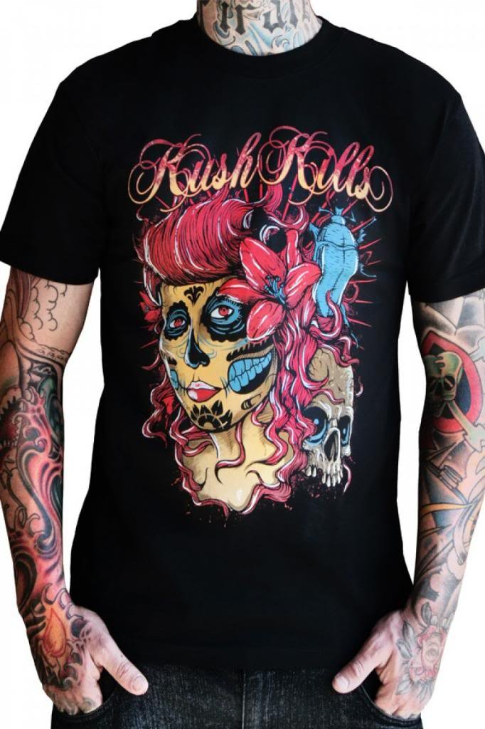 Men's Kush Kills The Deepest Beauty Tee