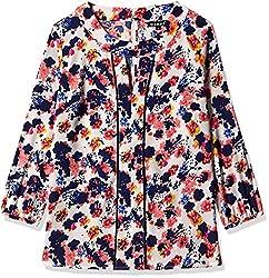 Harpa Women's Body Blouse Shirt (GR3258-OFFWHITE_L)