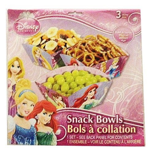 Disney Princess Snack Bowls - 1
