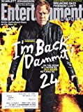 img - for Kiefer Sutherland, Heathers 25th Anniversary Special, Captain America: The Winter Soldier, Scarlett Johansson - Entertainment Weekly Magazine book / textbook / text book