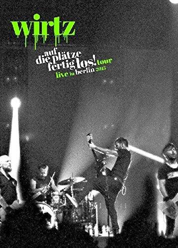 Wirtz - Auf die Plätze fertig los! Live in Berlin 2015 (1 DVD + 2 Audio-CDs) [Edizione: Germania]
