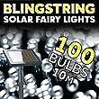 The Solar Centre Blingstring Fairy Lights - White 100 LEDs