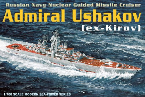 Dragon 1:700 7037 Admiral Ushakov New in Sealed Box