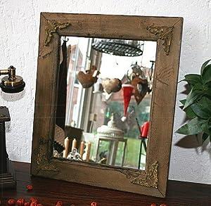 Rustikaler spiegel altes holz ornamente landhaus b ware kleine optische m ngel k che - Rustikaler spiegel ...