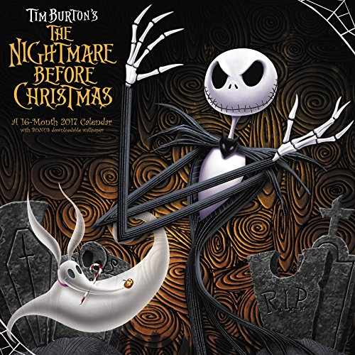 The Nightmare Before Christmas Wall Calendar (2017)