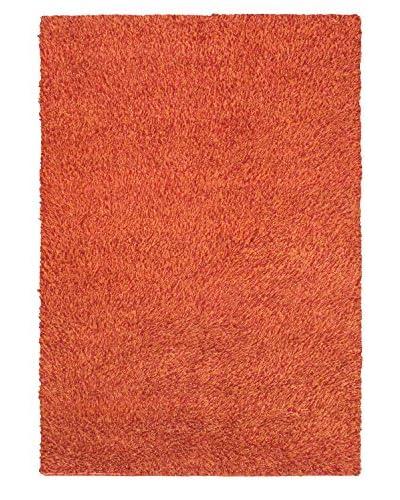 Hand-Knotted Nouveau Shag, Copper, 5' 7 x 7' 10