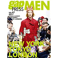 gap PRESS MEN 表紙画像
