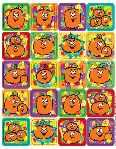 Eureka Pumpkins Stickers
