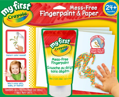 Crayola My First Crayola No Mess Finger-Painting Set front-1036671