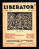 "The Liberator Magazine /June, 1924 / Cover by Julian de Miskey, ""Peace, and There Is No Peace"""