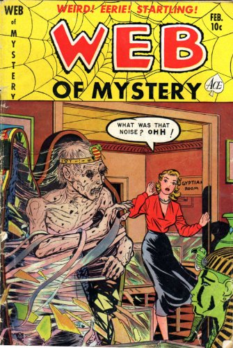 Web of Mystery - 7 cover