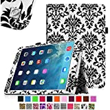 iPad mini Case - Fintie iPad mini 3 / iPad mini 2 / iPad mini Folio Slim Fit Vegan Leather Case with Smart Cover Auto Sleep / Wake Feature, Versailles