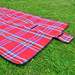 Extra Extra Large Red Picnic Blanket...