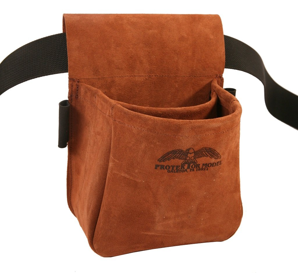 Leather Hunting Bags Shooters Bag Suede Leather