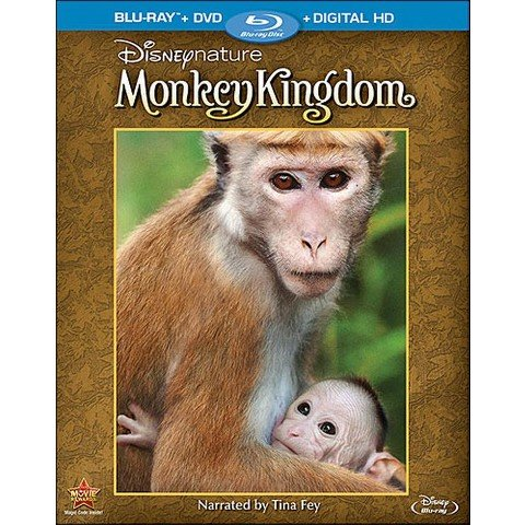 Disneynature's Monkey Kingdom Blu-Ray Photo