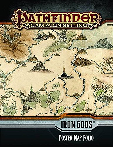 Pathfinder Campaign Setting: Iron Gods Poster Map Folio (Iron Gods compare prices)