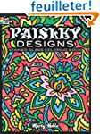 Paisley Designs Stained Glass Colorin...