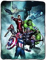 Avengers With Loki Fleece Blanket