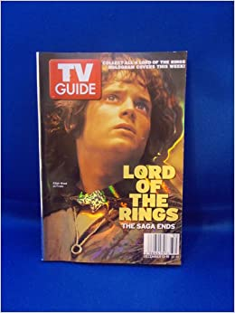 Tv Guide Lord Of The Rings The Saga Ends Tv Guide Editors Books