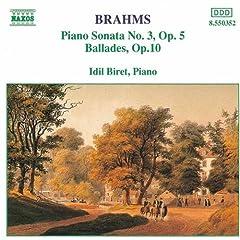 Ballades, Op. 10: No. 3 in B minor - Intermezzo