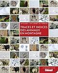 Traces et indices des animaux en mont...