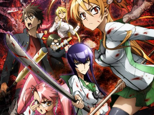 High School Of The Dead - 02 - Escape From The Dead (English Subtitled)