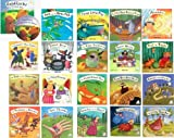 洋書絵本 英語 「Flip-Up Fairy Tales」 名作絵本20冊セット(絵本20冊+朗読CD20枚)