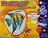 Mostaix Ribbon Series Angel Fish Mosaic Art Set (Red)