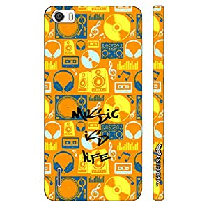 Huawei Honor 6 Music if Life designer mobile hard shell case by Enthopia