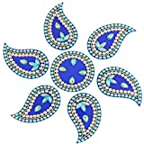 Ghasitaram Gifts Decorative Acrylic Rangoli RC