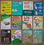 img - for Dr. Seuss Set of 12 Bright and Early and I Can Read It All By Myself Books (The Eye Book ~ Hop on Pop ~ Are You My Mother ~ One Fish Two Fish Red Fish Blue Fish ~ Oh Say Can You Say Dinosaur ~ Summer ~ The Cat in the Hat ~ A Fish Out of Water ~ C is for Clown ~ Ten Apples Up On Top ~ In a People House ~ Arthur's Reading Race) book / textbook / text book