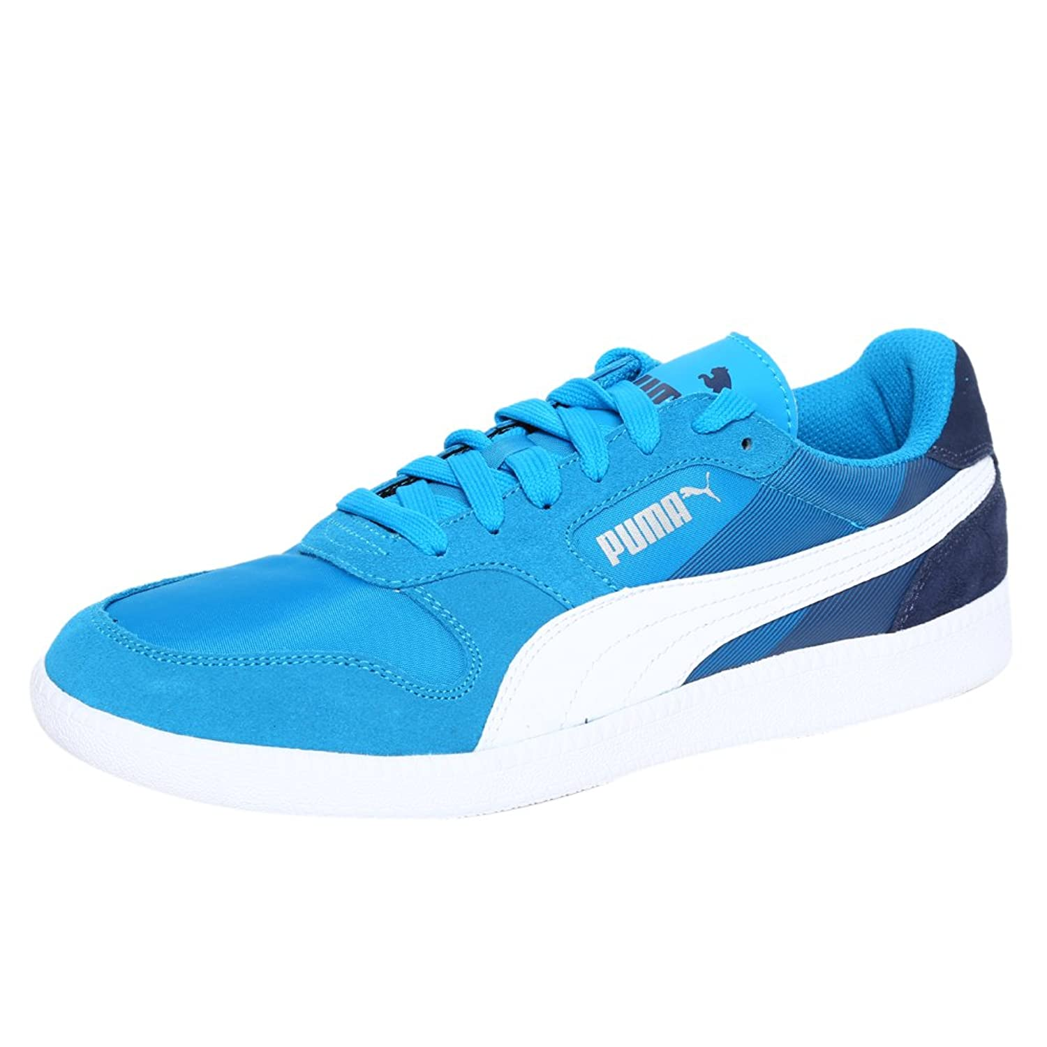 puma icra trainer sd blue sneakers