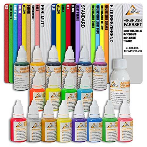 super-preis-airbrush-farben-set-auf-wasserbasis-fur-airbrush-kompressor-und-airbrushpistole-grundaus