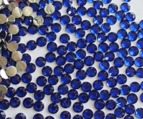 144pcs Round Flatback Rhinestones 5mm (21ss)--- Royal Blue By Pixiheart