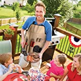 Chefs Kitchen Outdoor 7-Piece BBQ Apron and Utensil Set Chefs Kitchen Outdoor 7-Piece BBQ Apron and thumbnail