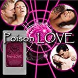 【 Poison LOVE (ポイズンラブ) 】1年分の フェロモン を摂取したら・・・毒のように相手の思考を侵せば 淫乱 ド変態 思いのままに。 性的興奮 を見逃すな!