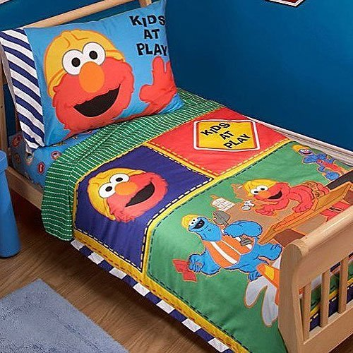 Sesame Street Construction Zone 4 Piece Toddler Set front-750076