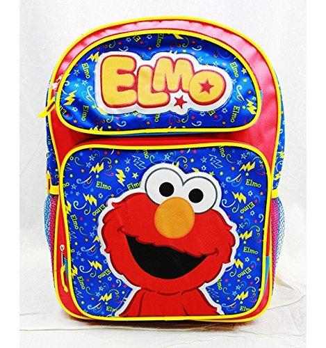 Zaino, motivo: Sesame Street, Elmo Rosso New ss20500 grande per la scuola