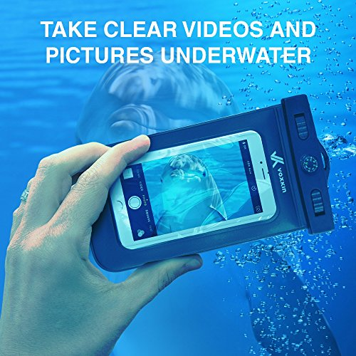 -PREMIUM-QUALITY--Universal-Waterproof-Case-for-iPhone-6S-6-6-Plus-5-5S-4-Galaxy-S6-S5-Note-4-LG-G4-HTC-etc-by-Voxkin-Best-Water-Proof-Dustproof-Snowproof-Pouch-Bag-for-Every-Cell-Phone-Includes-FREE-