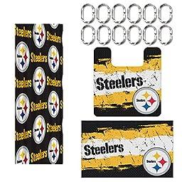 Pittsburgh Steelers 15 Piece Bath Set by Northwest